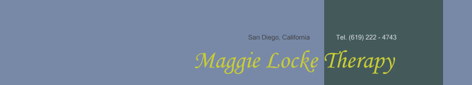 Maggie Locke Therapy, San Diego